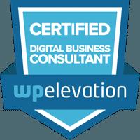 Wordpress Elevation Certified Digital Business Consultant